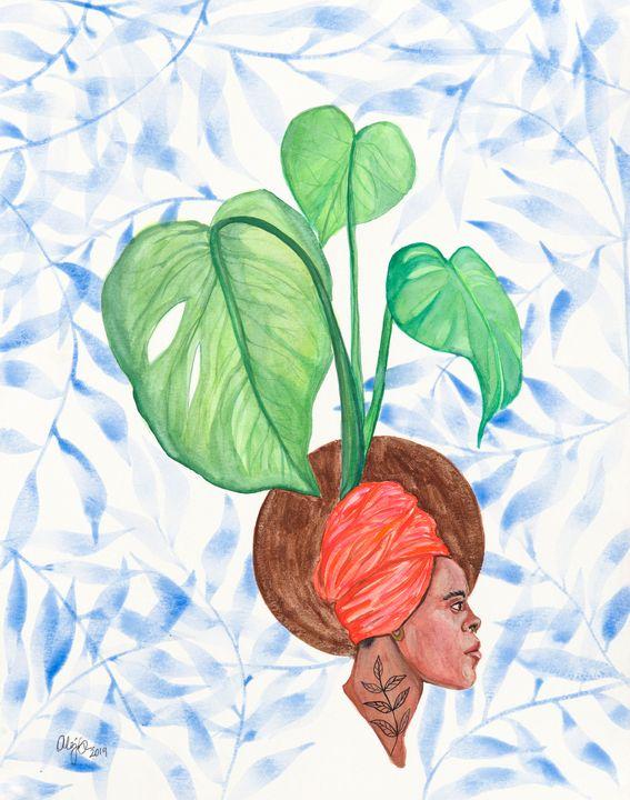 Her Growth - Ale Germann Art