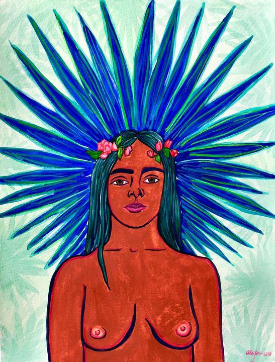 Palm Princess 1 - Ale Germann Art
