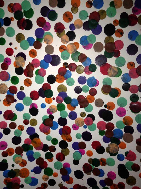 Crayon Dots - FotoFreedom