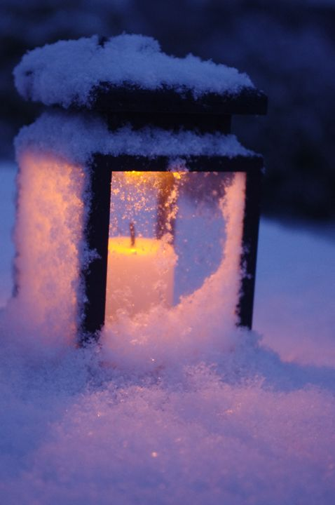 Candle Snow - FotoFreedom