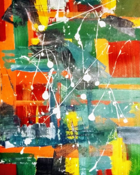 Painter's floor - SHRIarts