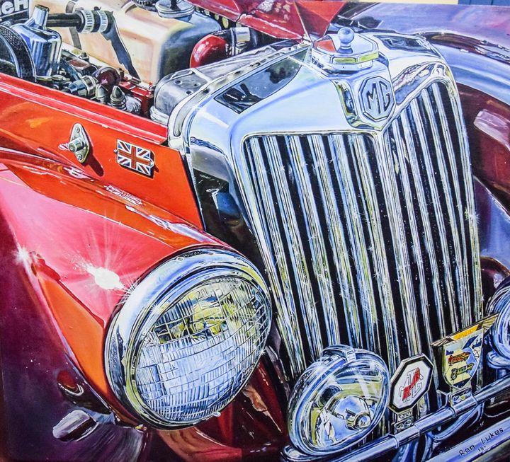 MG classic car - polytyc