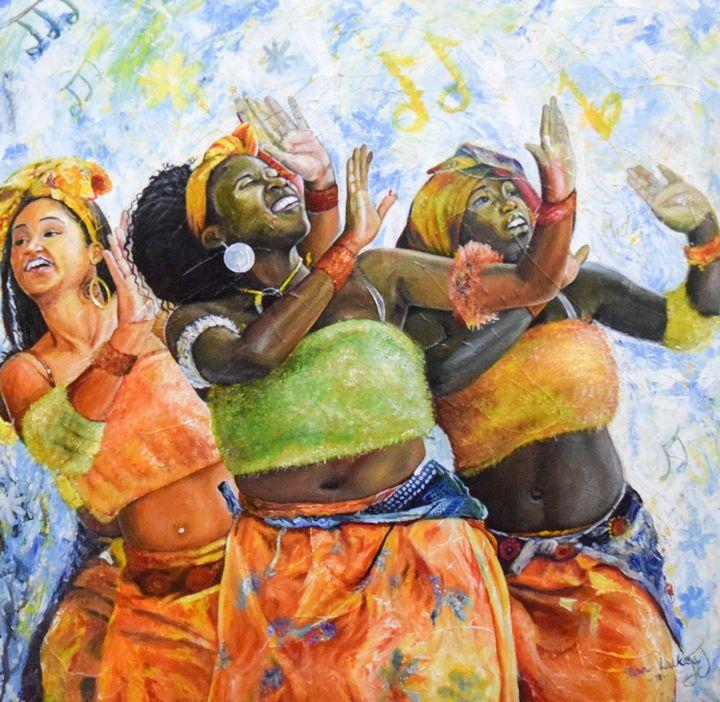 Women dancing - polytyc
