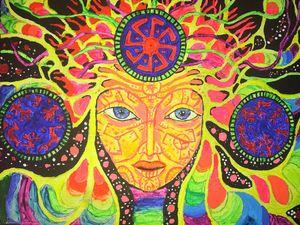 Trippy Medusa - ArtByToria