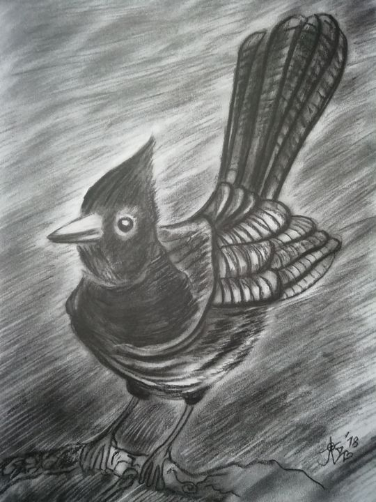 Happy bird - JelenaBardakart