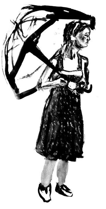 5mins Bamboo/Brush Life Drawing #3 - Bashaar Khan