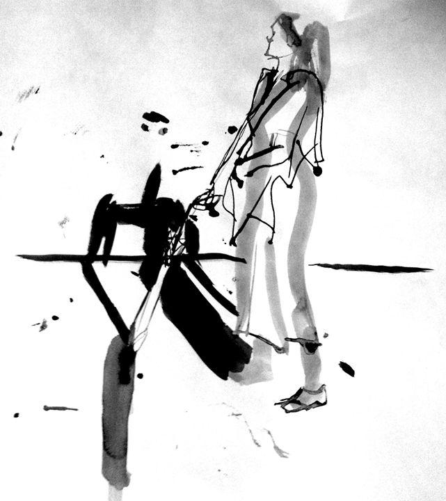 2mins Bamboo/Brush Life Drawing #1 - Bashaar Khan