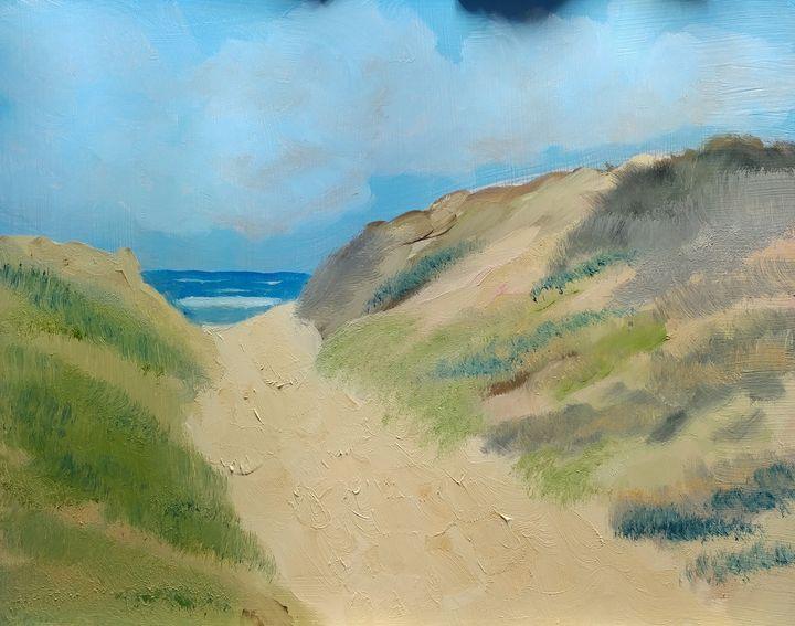 Hidden Beach - Arts Alive Studio