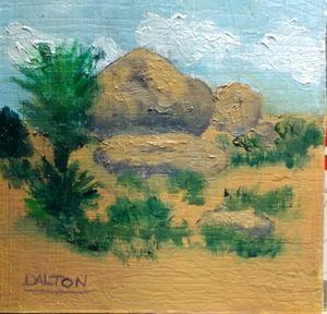 Rocky Desert - Arts Alive Studio