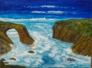 Mendocino Bridge - Arts Alive Studio