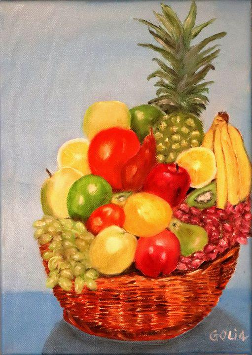 Fruit basket - Gerhard Oli4