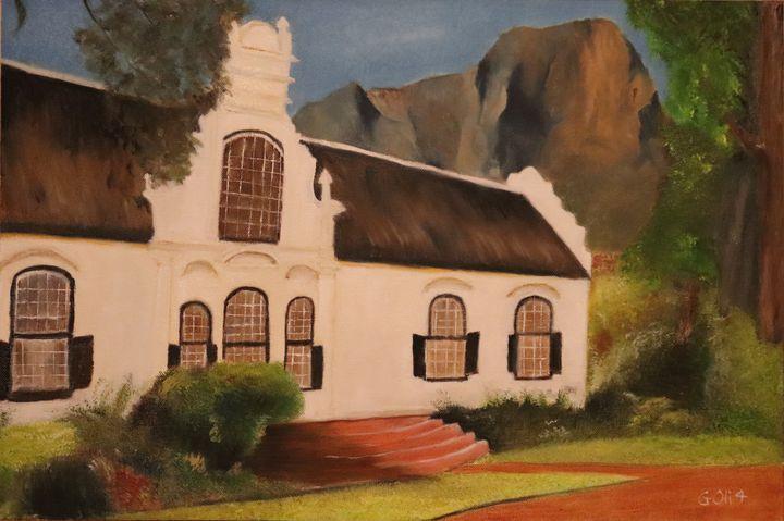 Cape Dutch (architecture) house - Gerhard Oli4