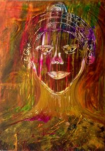 Soul 50x70 acrylic on canvas