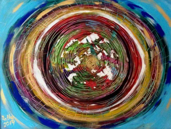 Time, 60x80 acrylic on canvas - rallyfineart