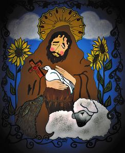 Saint Francis (Patron S of Animals) - Abbey de Santa Fe