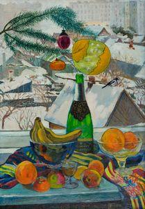 New Year's still life - Moesey Li