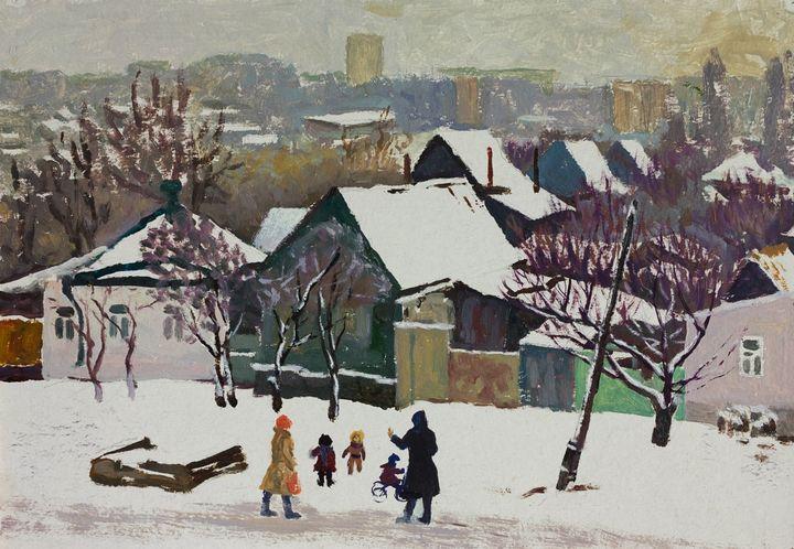 Winter day - Moesey Li