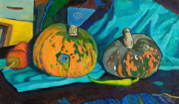 Pumpkins and pepper - Moesey Li