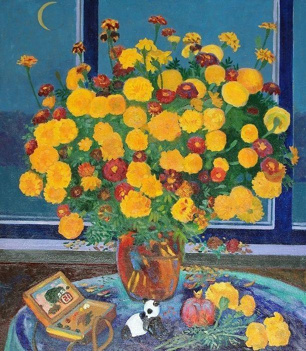 Autumn bouquet - Moesey Li