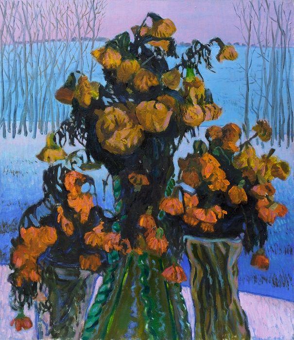 Frozen flowers - Moesey Li
