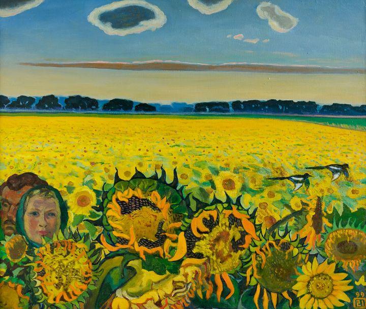 Field of sunflowers - Moesey Li