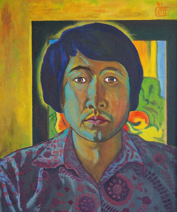 Self-portrait 1991 - Moesey Li