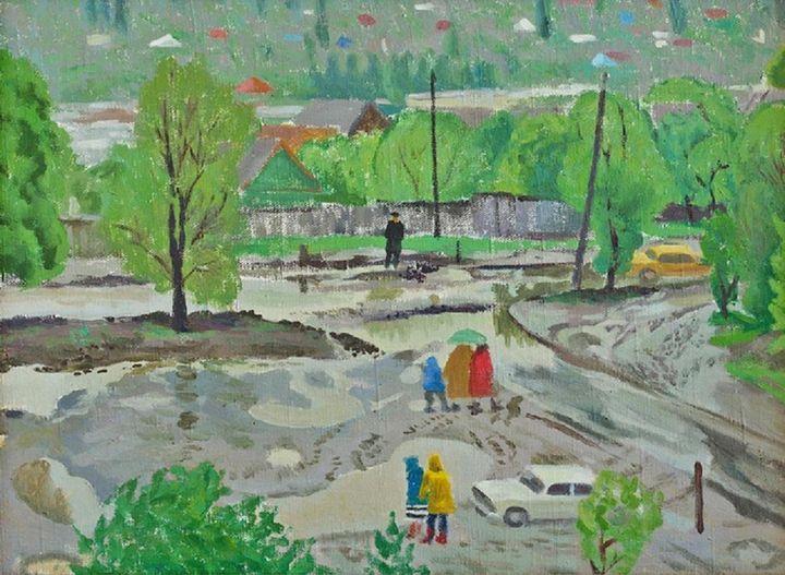 After the rain - Moesey Li