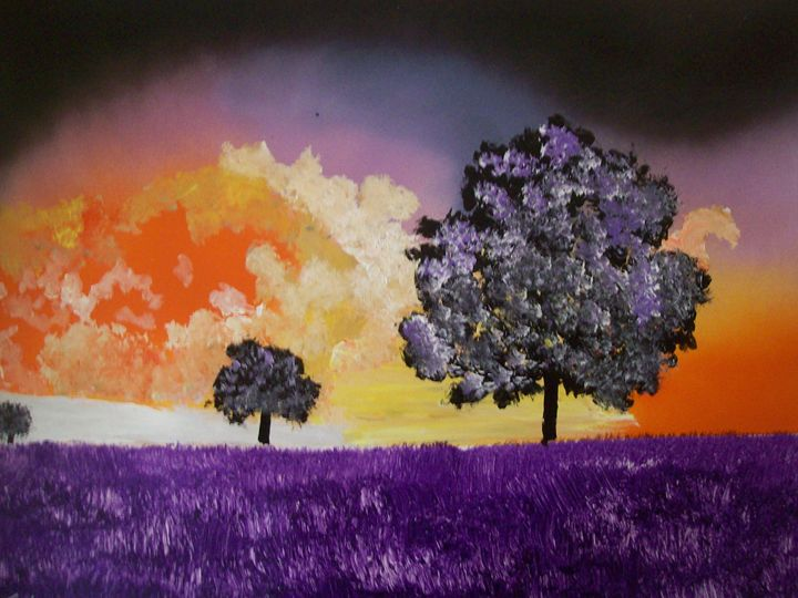purle grass - spa art gallery