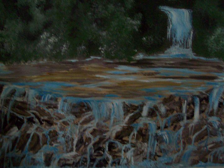 water falls - spa art gallery