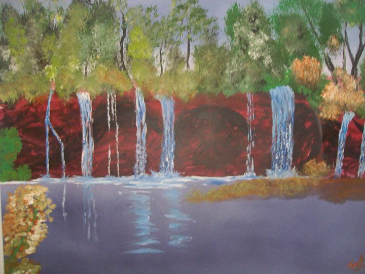 9 fall's down - spa art gallery