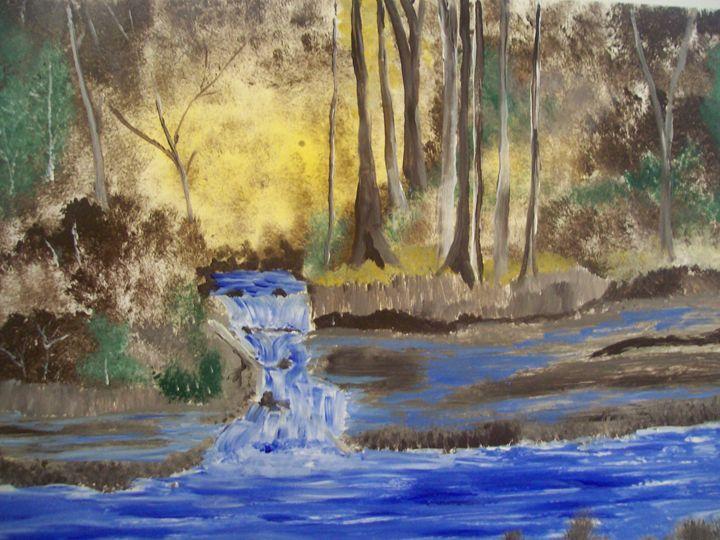 blue water - spa art gallery