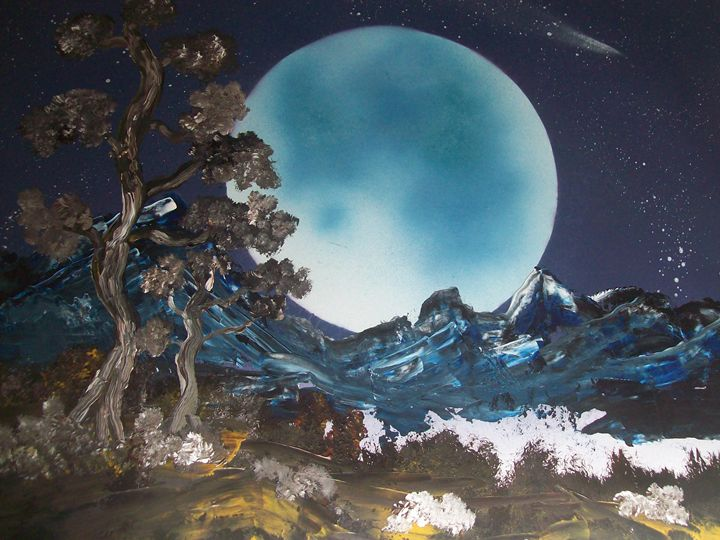 in the moon light - spa art gallery
