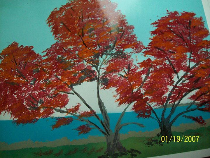 red trees - spa art gallery