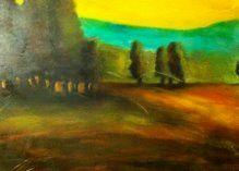 Lovely Hillside - Pamelas Art