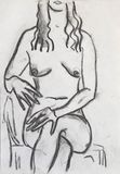nudeart sketch