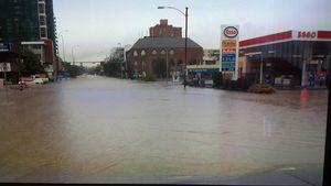 Calgary flood Esso 2013