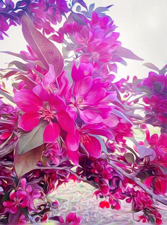 Vibrant Petals - Tanya