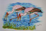 stork artwork