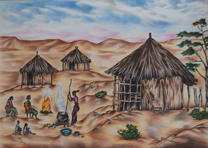 Village life in Western Province - Mistry Visuals