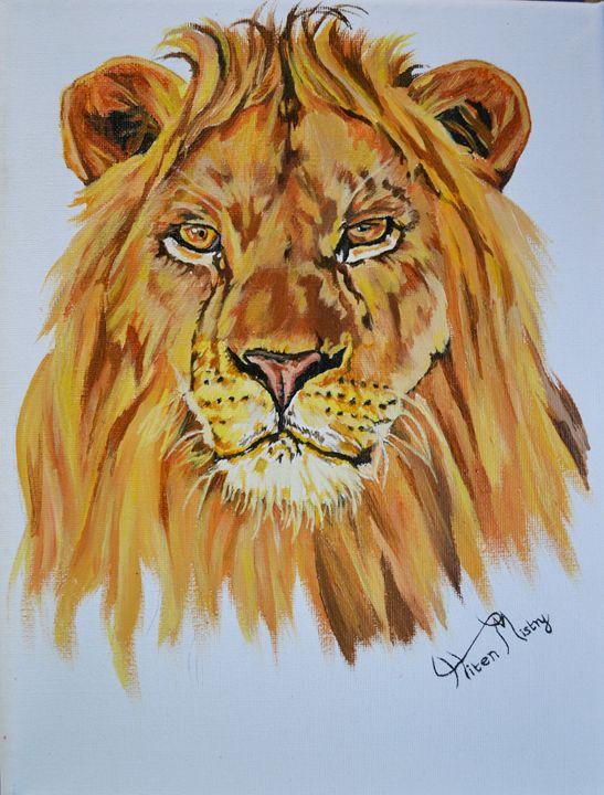 Lion portrait - Mistry Visuals