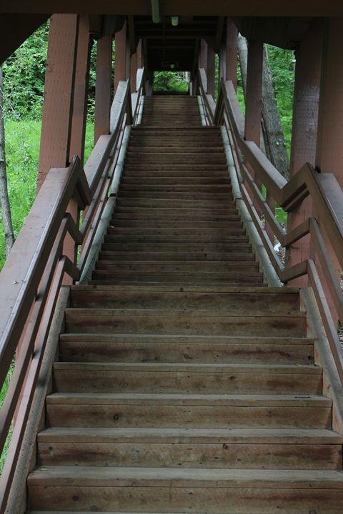 the stairs - john p sanders