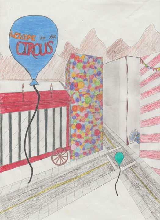 Welcome to the Circus (COLOR) - KCooley