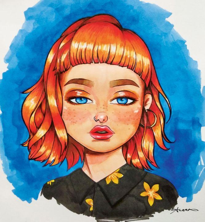 Grunge Girl - Susan Raymond