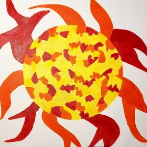 Fire Sun - Rattler Art