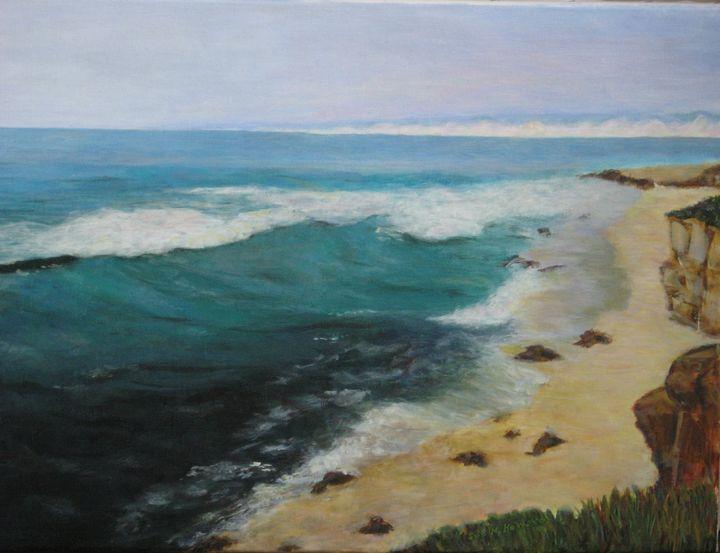 Ocean View, San Diego - SueNeufarthHowardArt
