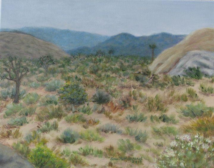 Desert Afternoon - SueNeufarthHowardArt