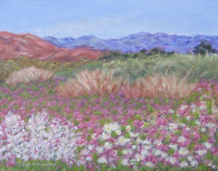 Earth Smiles in Flowers - SueNeufarthHowardArt