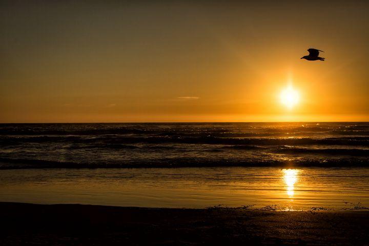 Seaside Oregon Sunset - Crystal Madsen Photography