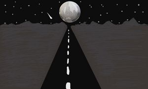 A road to moon