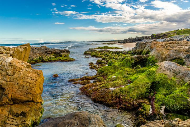 Gallows Beach at Low Tide - Timothy Skinner Photographer